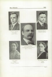 Page 12, 1921 Edition, Clinton High School - Clintonia Yearbook (Clinton, IL) online yearbook collection