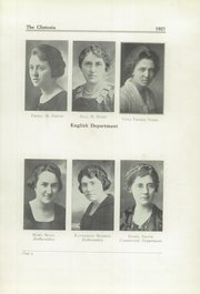 Page 13, 1921 Edition, Clinton High School - Clintonia Yearbook (Clinton, IL) online yearbook collection