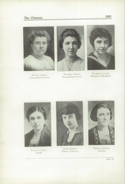 Page 14, 1921 Edition, Clinton High School - Clintonia Yearbook (Clinton, IL) online yearbook collection
