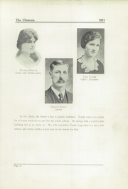 Page 15, 1921 Edition, Clinton High School - Clintonia Yearbook (Clinton, IL) online yearbook collection