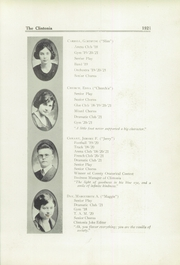 Page 17, 1921 Edition, Clinton High School - Clintonia Yearbook (Clinton, IL) online yearbook collection