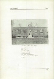 Page 8, 1921 Edition, Clinton High School - Clintonia Yearbook (Clinton, IL) online yearbook collection