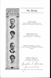 Page 11, 1917 Edition, Waller High School - Wallerian Yearbook (Chicago, IL) online yearbook collection