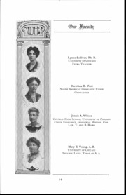 Page 15, 1917 Edition, Waller High School - Wallerian Yearbook (Chicago, IL) online yearbook collection