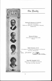 Page 9, 1917 Edition, Waller High School - Wallerian Yearbook (Chicago, IL) online yearbook collection