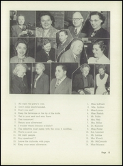Page 17, 1951 Edition, Waller High School - Wallerian Yearbook (Chicago, IL) online yearbook collection