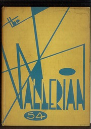 1954 Edition, Waller High School - Wallerian Yearbook (Chicago, IL)