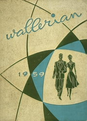 1959 Edition, Waller High School - Wallerian Yearbook (Chicago, IL)