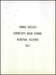 Page 5, 1957 Edition, Marengo Community High School - Yearbook (Marengo, IL) online yearbook collection