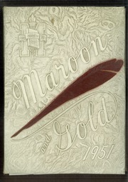 Monmouth High School - Maroon and Gold Yearbook (Monmouth, IL) online yearbook collection, 1951 Edition, Page 1