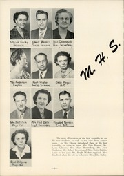 Page 12, 1951 Edition, Monmouth High School - Maroon and Gold Yearbook (Monmouth, IL) online yearbook collection