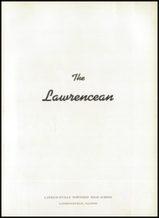 Page 5, 1949 Edition, Lawrenceville High School - Lawrencean Yearbook (Lawrenceville, IL) online yearbook collection