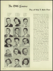 Page 16, 1946 Edition, Dundee Community High School - Cardunal Yearbook (Carpentersville, IL) online yearbook collection