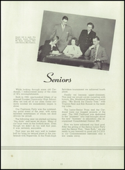 Page 17, 1950 Edition, Dundee Community High School - Cardunal Yearbook (Carpentersville, IL) online yearbook collection