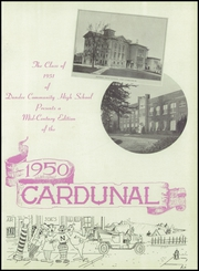Page 7, 1950 Edition, Dundee Community High School - Cardunal Yearbook (Carpentersville, IL) online yearbook collection