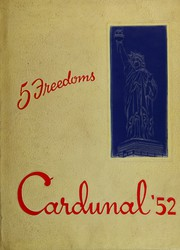 1952 Edition, Dundee Community High School - Cardunal Yearbook (Carpentersville, IL)