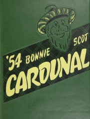 1954 Edition, Dundee Community High School - Cardunal Yearbook (Carpentersville, IL)