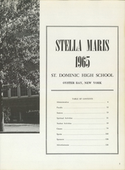 Page 7, 1965 Edition, Saint Dominic High School - Stella Maris Yearbook (Oyster Bay, NY) online yearbook collection