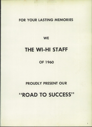 Page 5, 1960 Edition, Wilmington High School - Wi Hi Yearbook (Wilmington, IL) online yearbook collection