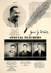 Page 11, 1955 Edition, Highland High School - Iris Yearbook (Highland, IL) online yearbook collection