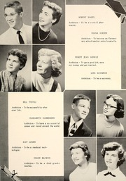 Page 17, 1955 Edition, Highland High School - Iris Yearbook (Highland, IL) online yearbook collection