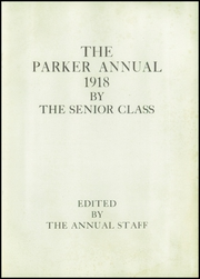 Page 7, 1918 Edition, Parker High School - Parker Pine Yearbook (Chicago, IL) online yearbook collection
