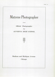 Alvernia High School - Alvernian Yearbook (Chicago, IL) online yearbook collection, 1935 Edition, Page 147