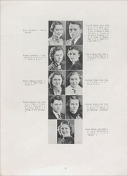 Page 15, 1938 Edition, Sandwich High School - Reflector Yearbook (Sandwich, IL) online yearbook collection