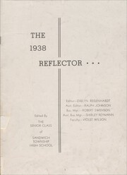 Page 3, 1938 Edition, Sandwich High School - Reflector Yearbook (Sandwich, IL) online yearbook collection