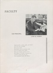 Page 7, 1938 Edition, Sandwich High School - Reflector Yearbook (Sandwich, IL) online yearbook collection