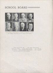 Page 8, 1938 Edition, Sandwich High School - Reflector Yearbook (Sandwich, IL) online yearbook collection