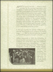 Page 10, 1934 Edition, Mount Carmel High School - Oriflamme Yearbook (Chicago, IL) online yearbook collection