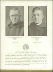 Page 17, 1934 Edition, Mount Carmel High School - Oriflamme Yearbook (Chicago, IL) online yearbook collection