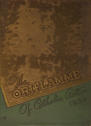 Page 1, 1936 Edition, Mount Carmel High School - Oriflamme Yearbook (Chicago, IL) online yearbook collection