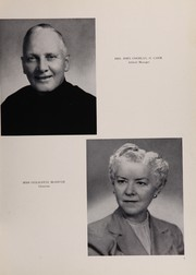 Page 11, 1954 Edition, Mount Carmel High School - Oriflamme Yearbook (Chicago, IL) online yearbook collection
