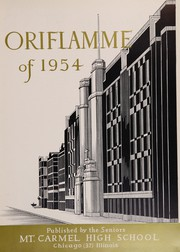 Page 7, 1954 Edition, Mount Carmel High School - Oriflamme Yearbook (Chicago, IL) online yearbook collection