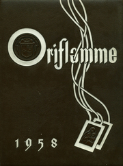 Page 1, 1958 Edition, Mount Carmel High School - Oriflamme Yearbook (Chicago, IL) online yearbook collection