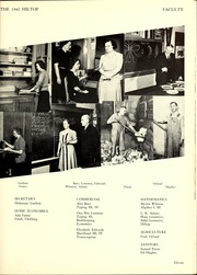 Page 17, 1942 Edition, Hillsboro High School - Hiltop Yearbook (Hillsboro, IL) online yearbook collection