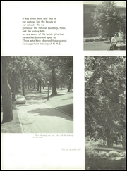 Page 10, 1958 Edition, Hillsboro High School - Hiltop Yearbook (Hillsboro, IL) online yearbook collection