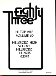 Page 5, 1983 Edition, Hillsboro High School - Hiltop Yearbook (Hillsboro, IL) online yearbook collection