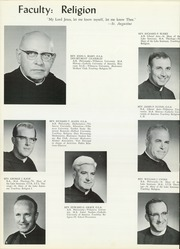 Page 12, 1966 Edition, Mendel Catholic High School - Monarch Yearbook (Chicago, IL) online yearbook collection