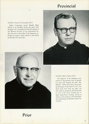 Page 9, 1966 Edition, Mendel Catholic High School - Monarch Yearbook (Chicago, IL) online yearbook collection