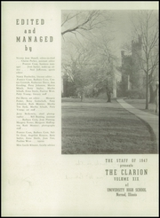 Page 6, 1947 Edition, University High School - Clarion Yearbook (Normal, IL) online yearbook collection