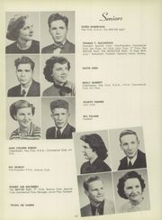 Page 16, 1951 Edition, Fairfield Community High School - Reflector Yearbook (Fairfield, IL) online yearbook collection