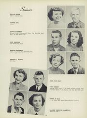 Page 17, 1951 Edition, Fairfield Community High School - Reflector Yearbook (Fairfield, IL) online yearbook collection