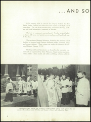 Page 10, 1950 Edition, St Gregory High School - Timber Yearbook (Chicago, IL) online yearbook collection