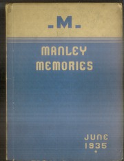 1935 Edition, Manley High School - Memories Yearbook (Chicago, IL)