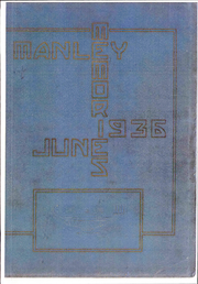 1936 Edition, Manley High School - Memories Yearbook (Chicago, IL)