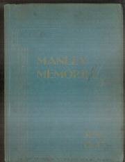 Page 1, 1937 Edition, Manley High School - Memories Yearbook (Chicago, IL) online yearbook collection