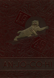 1945 Edition, Anna Jonesboro High School - Wildcat Lair Yearbook (Anna, IL)